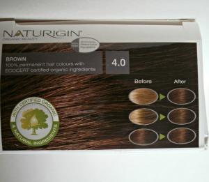 Naturigin hair dye