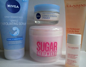 summer essentials skincare