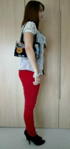 OOTD - Red Jeans