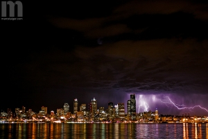 Seattle lightning