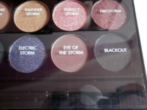 Sleek Storm Palette