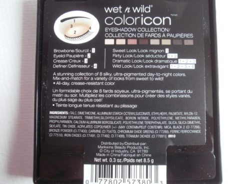 Wet n Wild Comfort Zone Palette